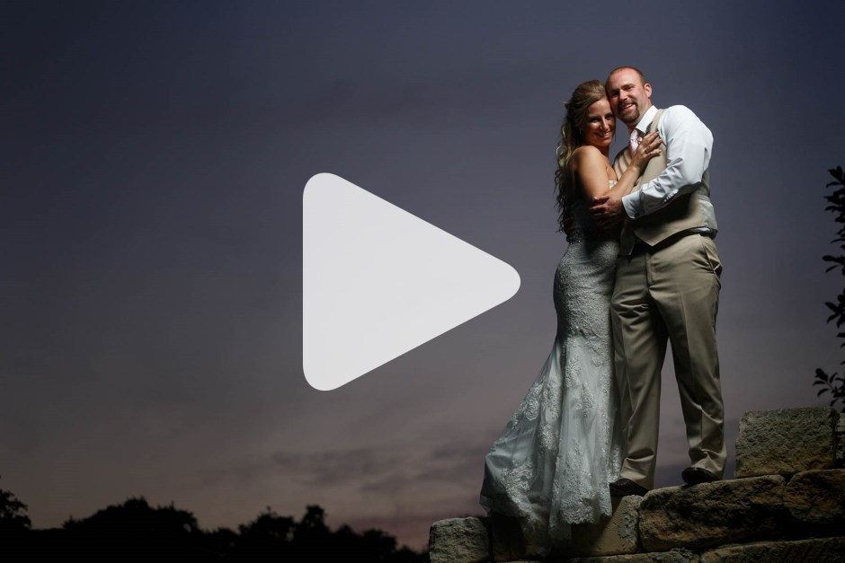 Abby and James: Boulder Springs, New Braunfels Wedding Trailer
