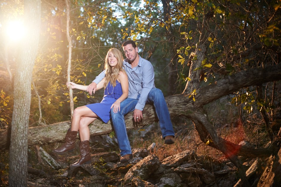 Jacob & Katie: Westridge Stables Spicewood Springs Engagement
