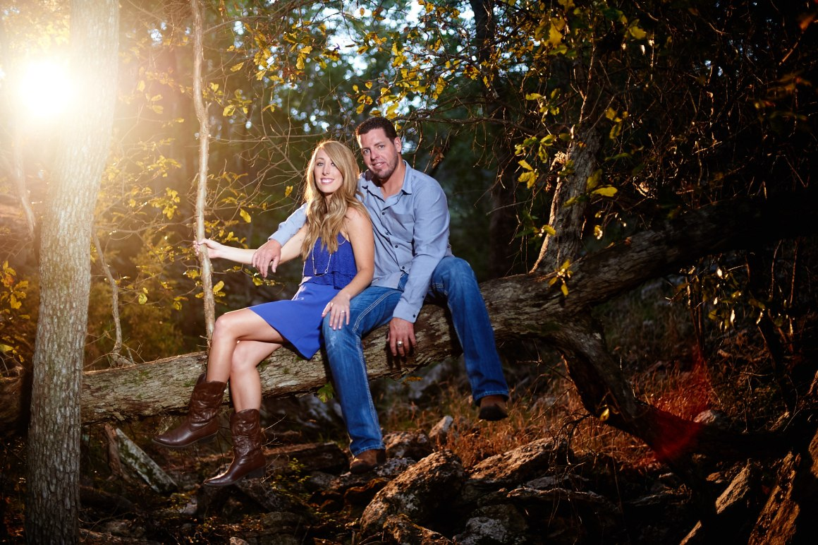 Jacob and Kathleen austin hill country adventure engagement- hill country engagement photos - golden hour engagement photos - austin wedding photographers - nature engagement photos -