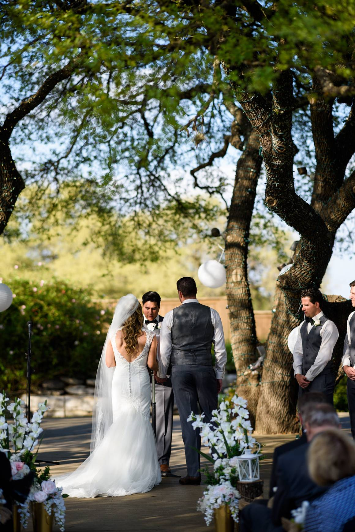 Antebellum Oaks Wedding - Austin Wedding Photographer - Jacob and Katie - hill country views, hill country wedding