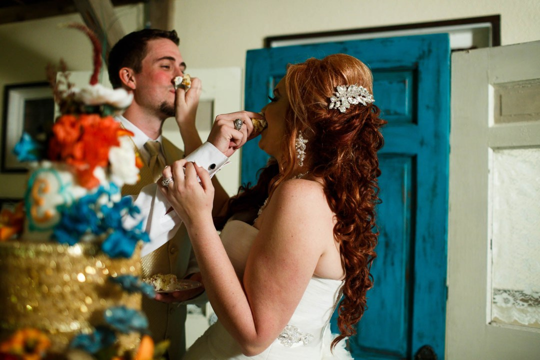 Canyon Lake Wedding - Country Wedding - Classic Car Wedding - New Braunfels Wedding - Wedding Cake - Shay and Jason