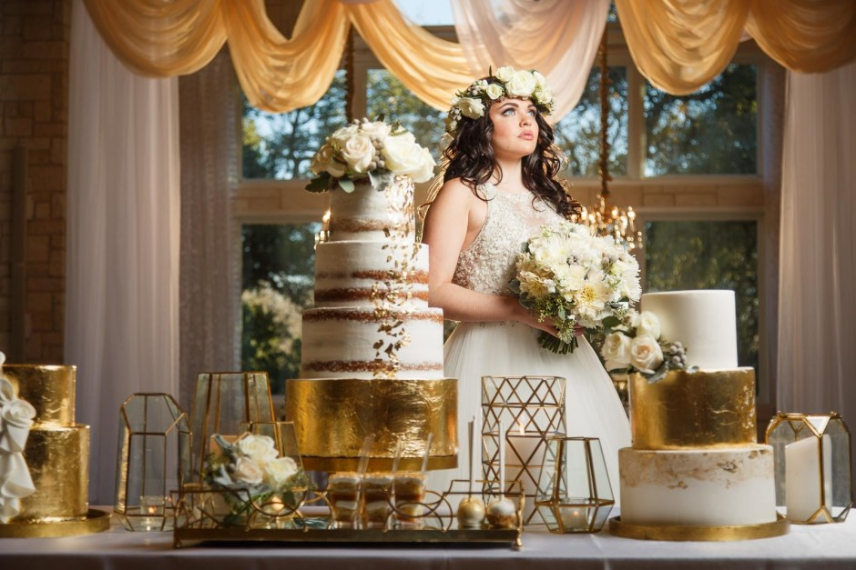 Elegant Golden Hour Bridals and Wedding Design