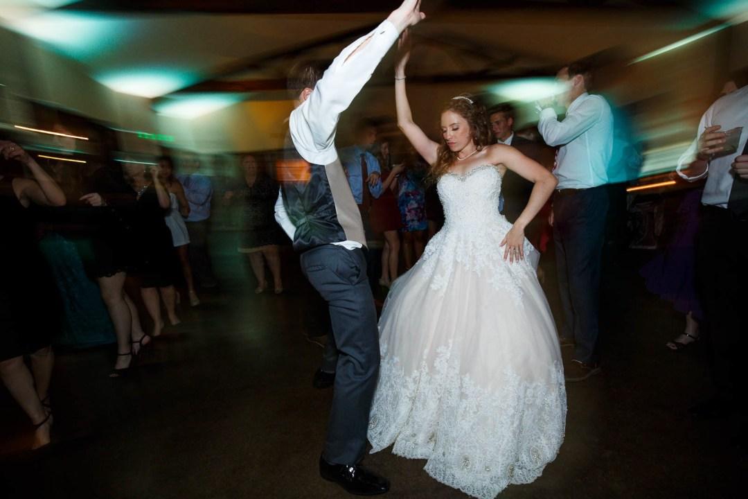 Hill Country Wedding - Pecan Springs Ranch Wedding - Wedding Reception - dancing - Austin Wedding Photographer - Matt and Allison