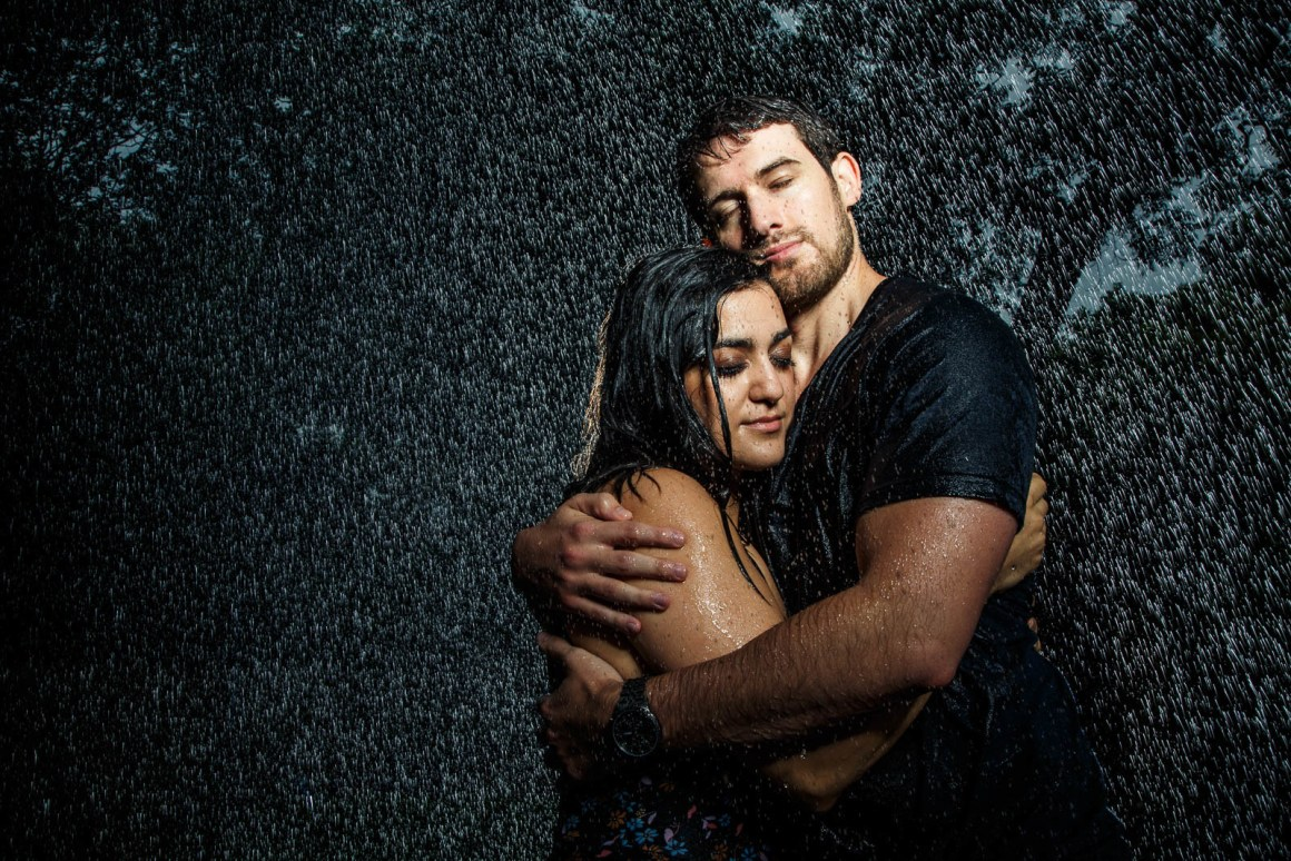 Chris and Samantha Engagement - soaked engagement - epic engageent photos - austin wedding photographers - creative engagement photo ideas
