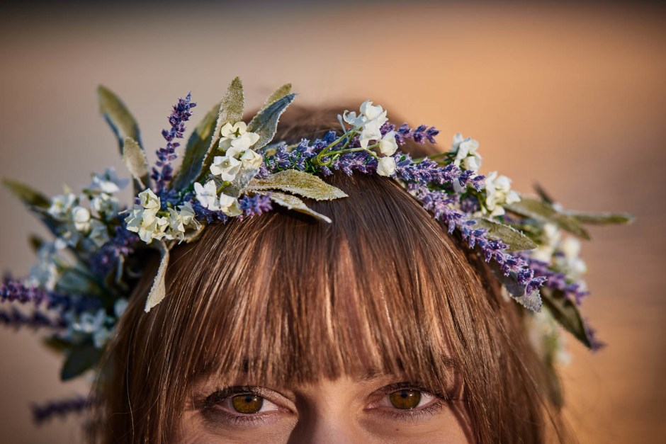 Adventure Wedding, Destination Wedding, Austin Wedding Photographers, Banff Mountains, Alberta Canada, DIY Flower Crown