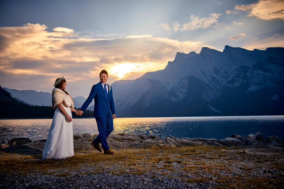 Adventure Wedding, Banff Destination Wedding, Austin Wedding Photographers, Banff Mountains, Alberta Canada,