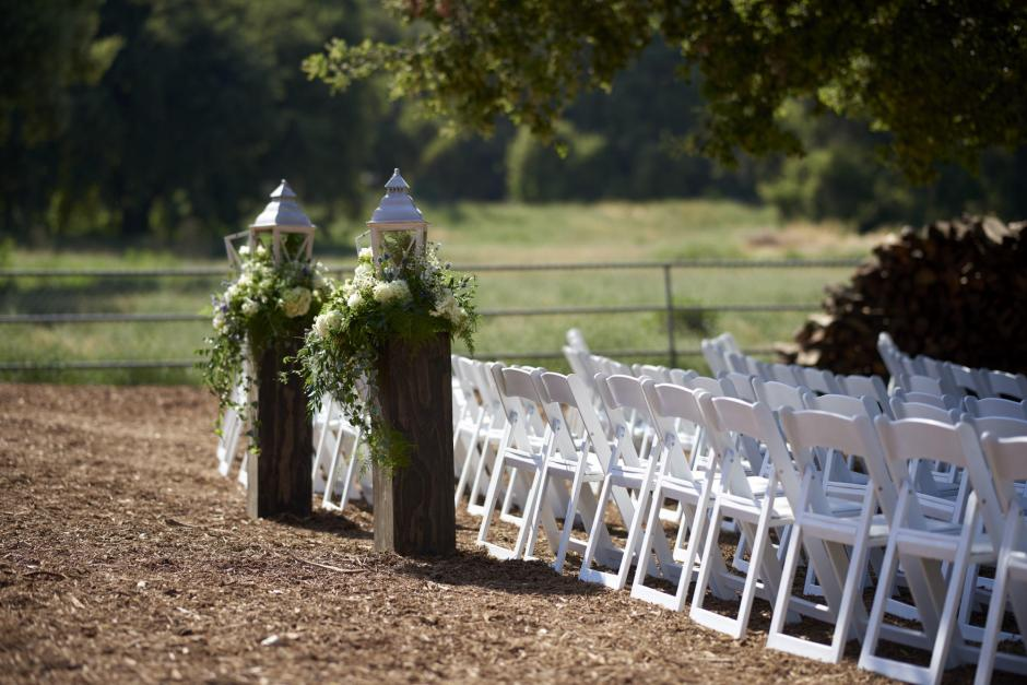 Stunning boquets for this wedding at a private property.