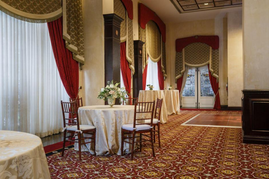 The Driskill Hotel Austin - Remodeled Wedding Rooms - Styled Architectural Shoot