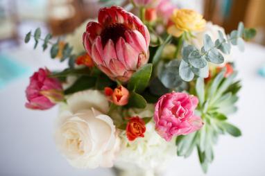 Bridal Bouquet at TerrAdorna in Austin, Tx