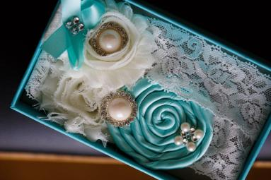 Bridal accessories at TerrAdorna in Austin, Tx