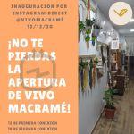 IGTV Inauguración Vivo Macramé-Post Instagram-Artworkpost