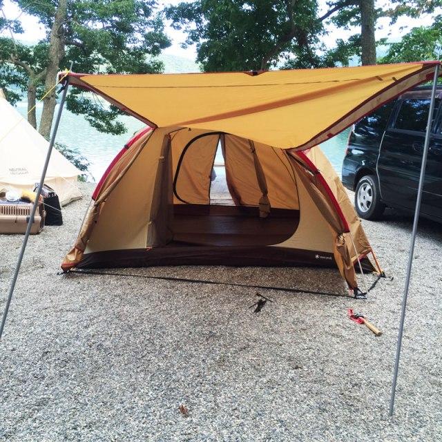 大向キャンプ場,Amenity Dome M,snowpeak,スノーピーク,アメニティドーム,アメニティドームM