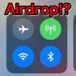 【iPhone】iOS 11でAirDropできないじゃん!→10秒で解決