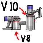 【V10新型ダイソン】旧型V8と比べて特にイイなと思うポイント!