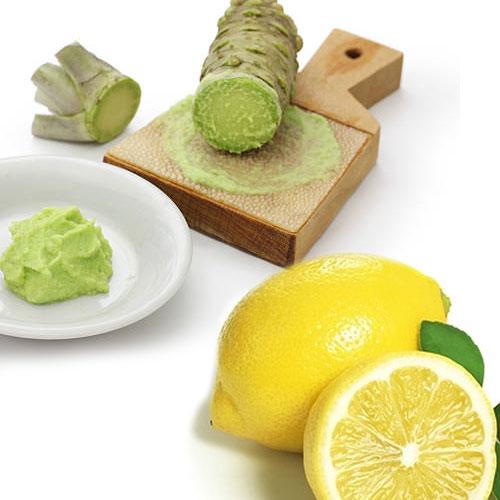 わさび,レモン,混ぜる,辛い