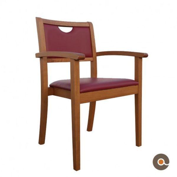 chaise avec accoudoirs mila a roncq