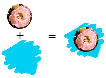 画像の合成イメージ