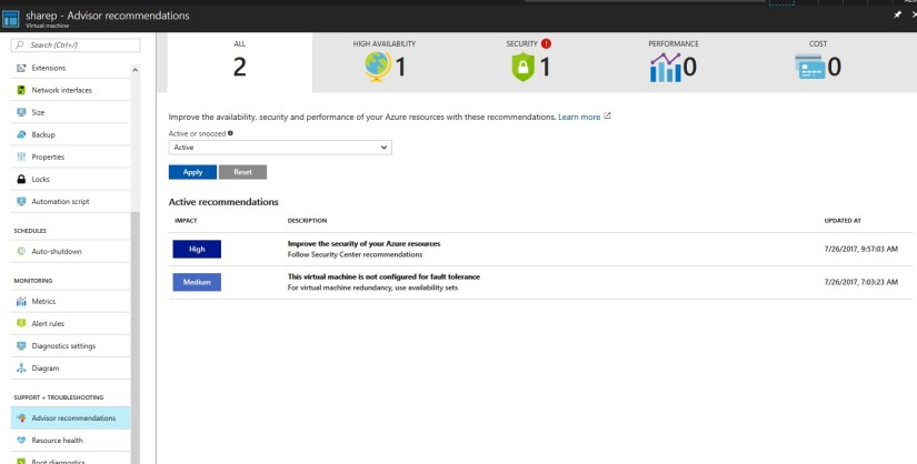 Azure Advisor Recomandation.jpg