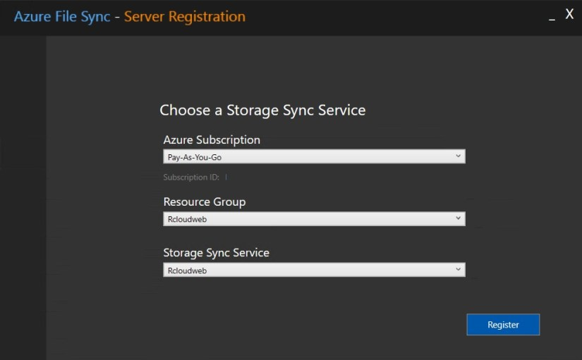 Azure File Sync14