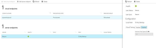 Azure File Sync22