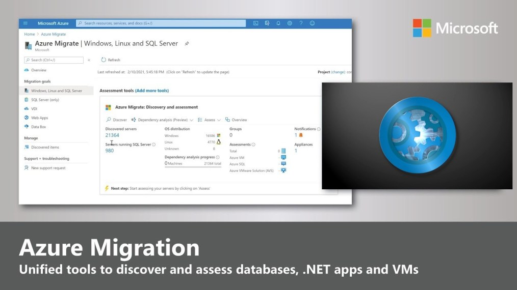 New unified tools for discovering and assessing SQL databases, .NET apps and VMs – Microsoft Mechanics video