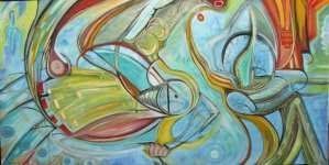 """Art Gallery - Michael Angelides. """"Matador"""""""