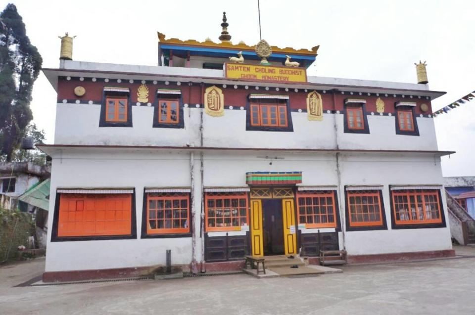 Darjeeling sightseeing - Ghoom Monastery - Darjeeling-The Azure Sky Follows - Tania Mukherjee