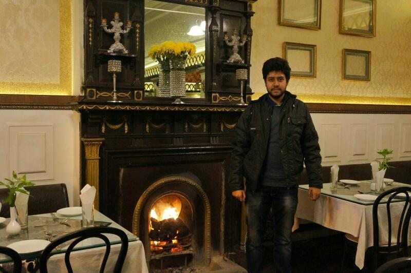 honeymoon in Darjeeling - Glenary's Darjeeling fireplace