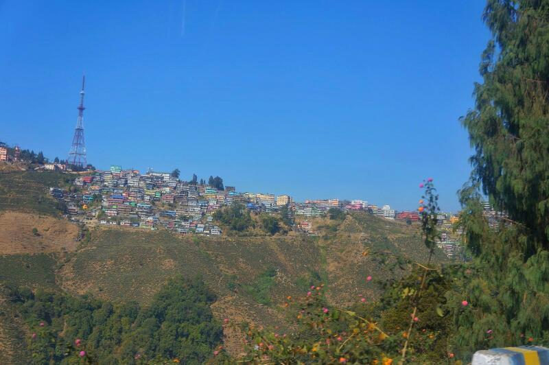 honeymoon in Darjeeling - NJP to Darjeeling 4