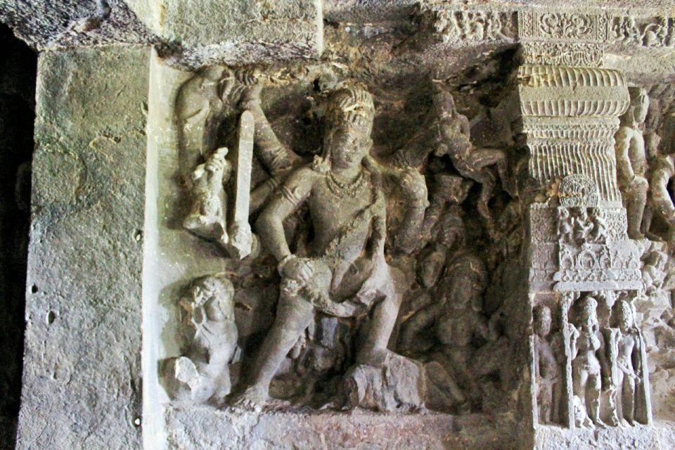 Ellora 14- 11 Andhakasuravadha