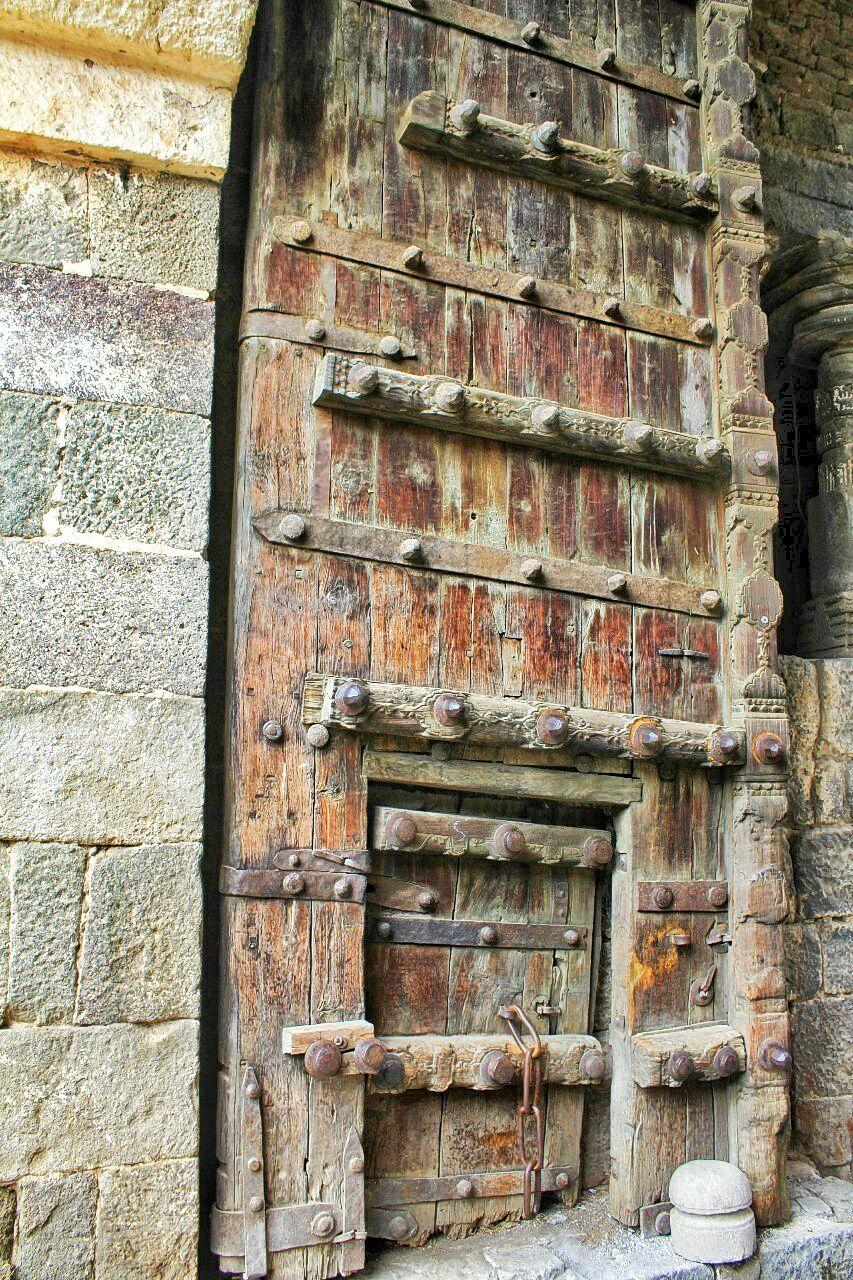 17 daulatabad fort - aurangabad - maharashtra - india - azure sky follows