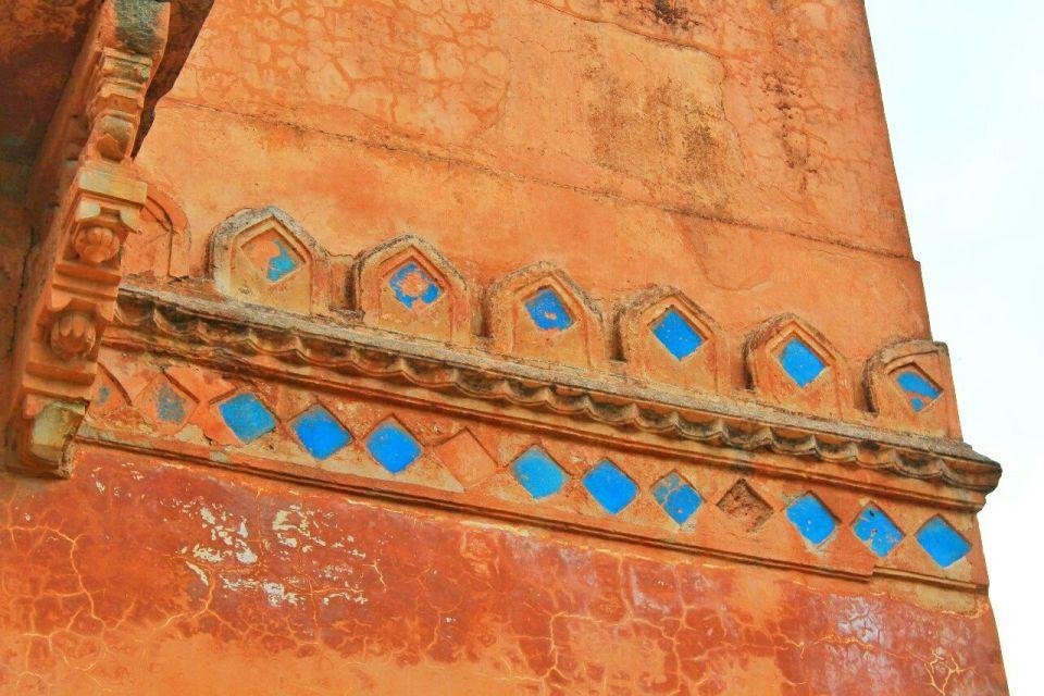 34 daulatabad fort - aurangabad - maharashtra - india - azure sky follows
