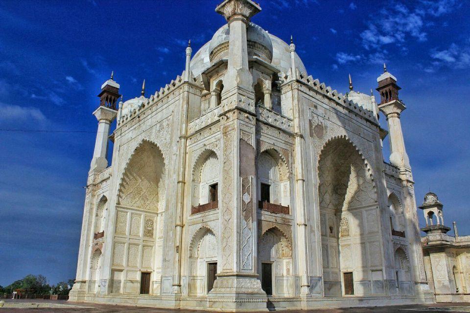 Aurangabad Taj Mahal 74 (2) Bibi ka Maqbara Aurangabad Azure Sky Follows Tania