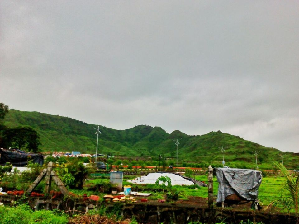 1 Azure Sky Follows - Tania Mukherjee Banerjee -Kharghar hills -Mumbai-Travel Blog