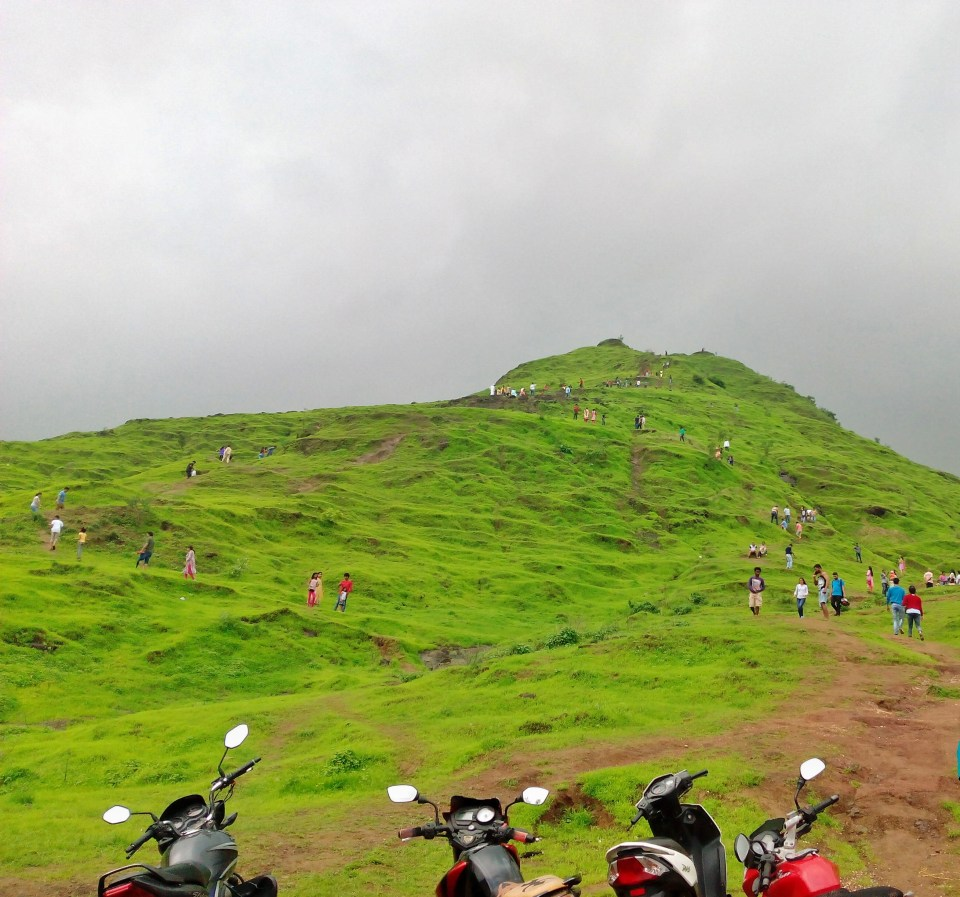 9 Azure Sky Follows - Tania Mukherjee Banerjee -Kharghar hills -Mumbai-Travel Blog