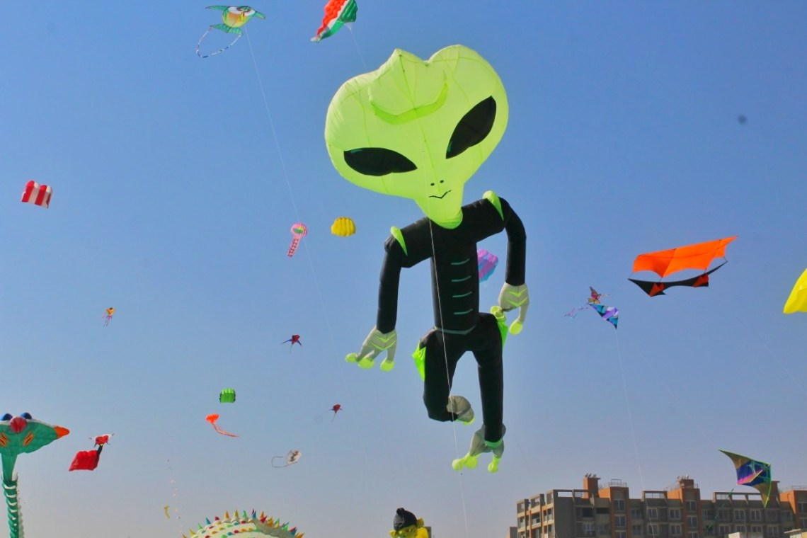 International Kite Festival Ahmedabad
