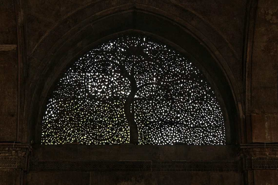 Sidi Saiyyed Mosque jaali window