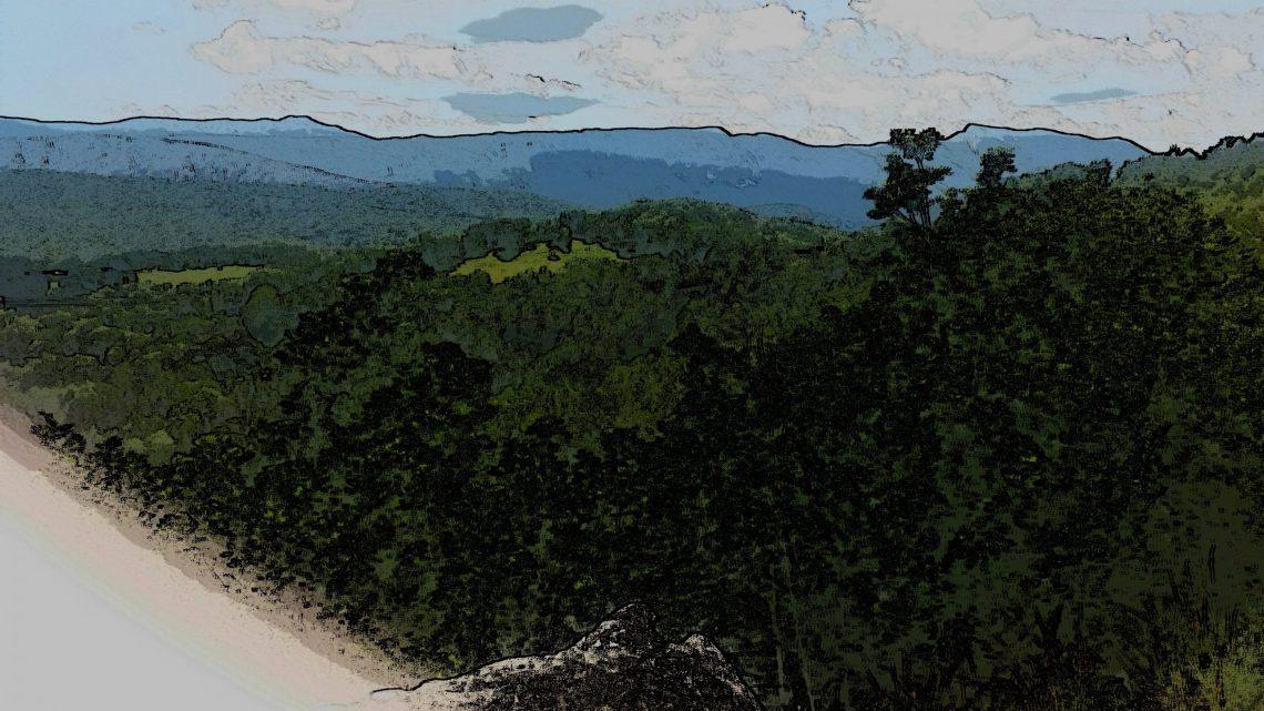 © Azurka. Вид на горы в Pichette