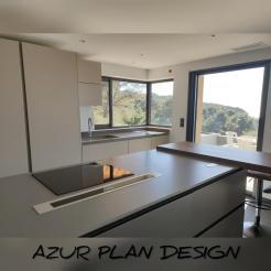 Plan de travail Quartz Silestone Cemento SPA SUEDE