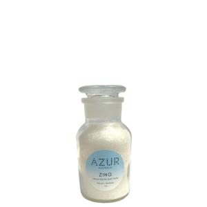Lemon Myrtle Bath Salts Glass Apothecary Jar