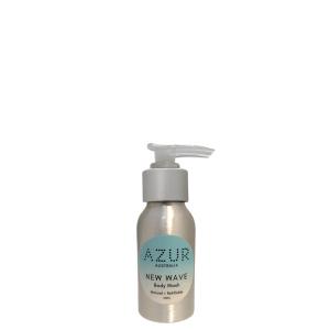 Travel body wash aluminium pump bottle