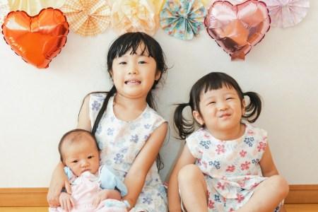 ニューボーンフォト&家族写真撮影