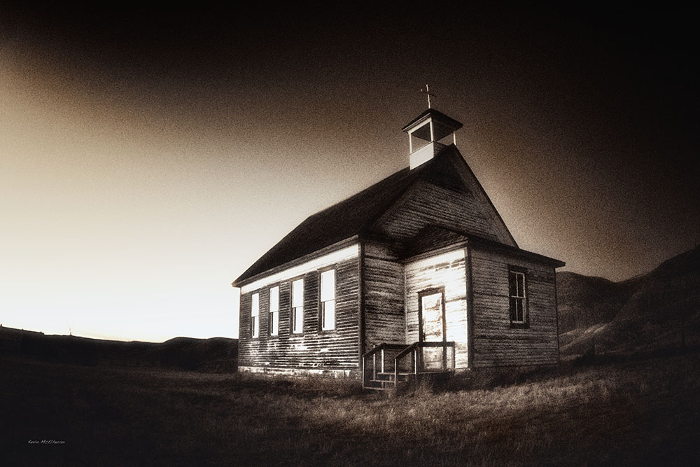 country church in Iowa
