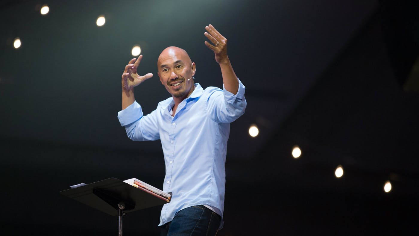 Francis Chan and tongues?