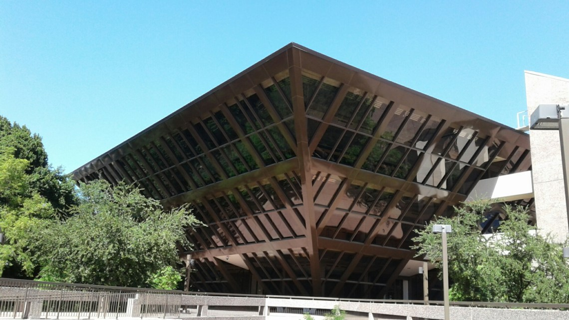 Tempe municipal building - an inverted pyramid