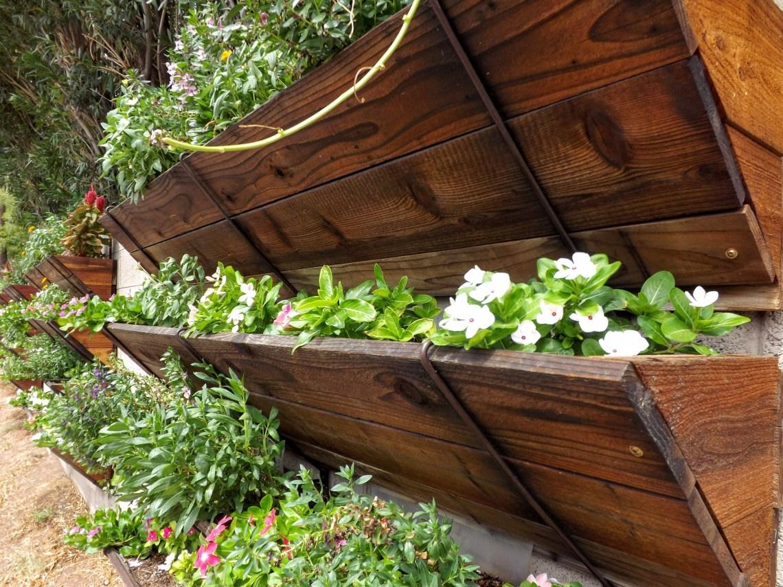 Flower Street Vertical Garden