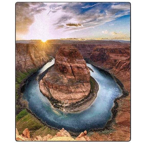 Image of Horseshoe Bend on the Colorado River