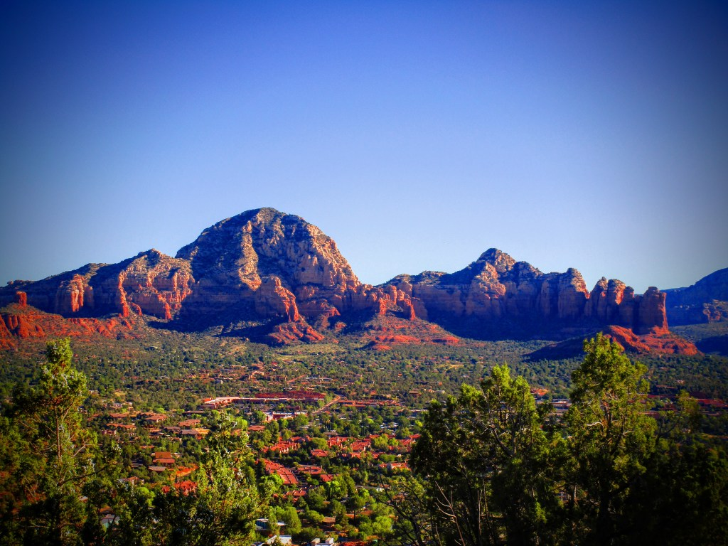 Thunder Mountain and Coffee Pot Rock