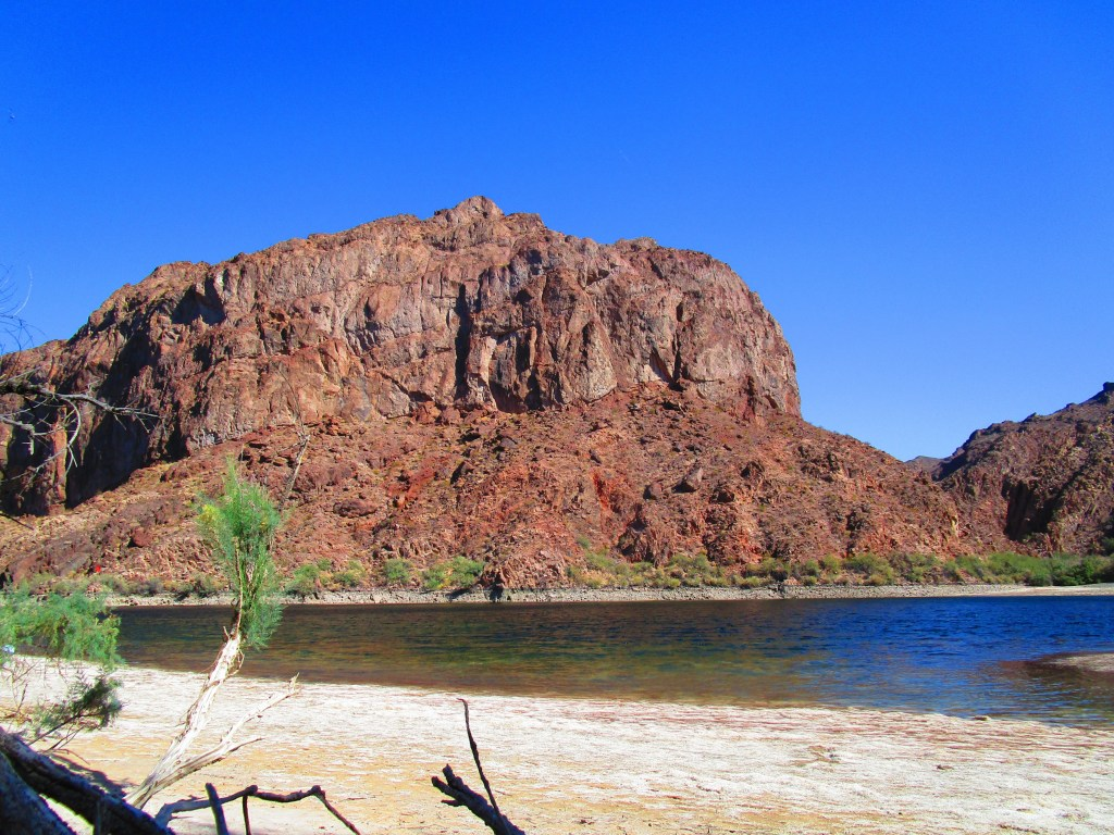 Beach on Colorado River