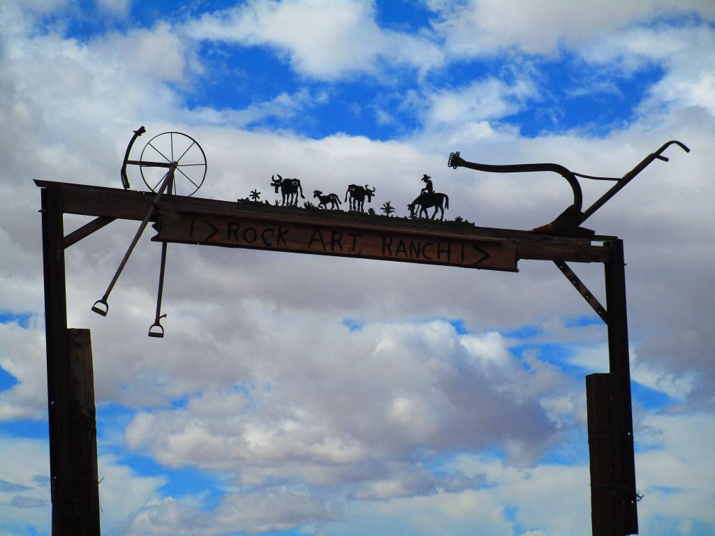 Rock Art Ranch Sign